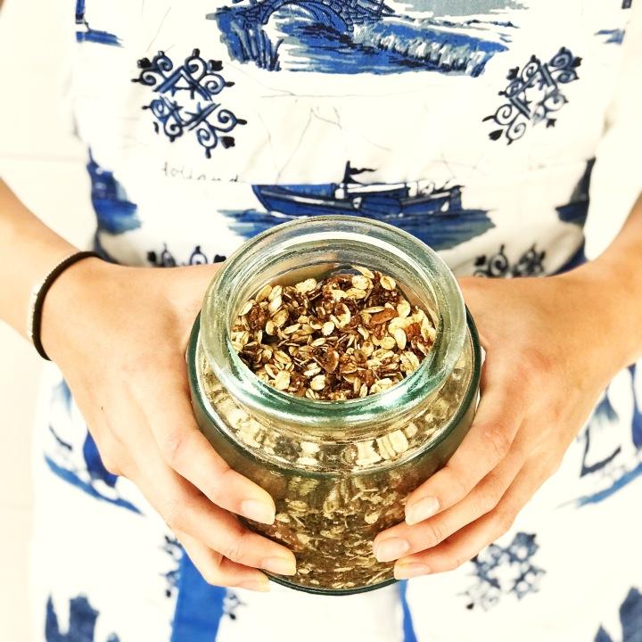 Homemade Spiced Granola ~Recipe