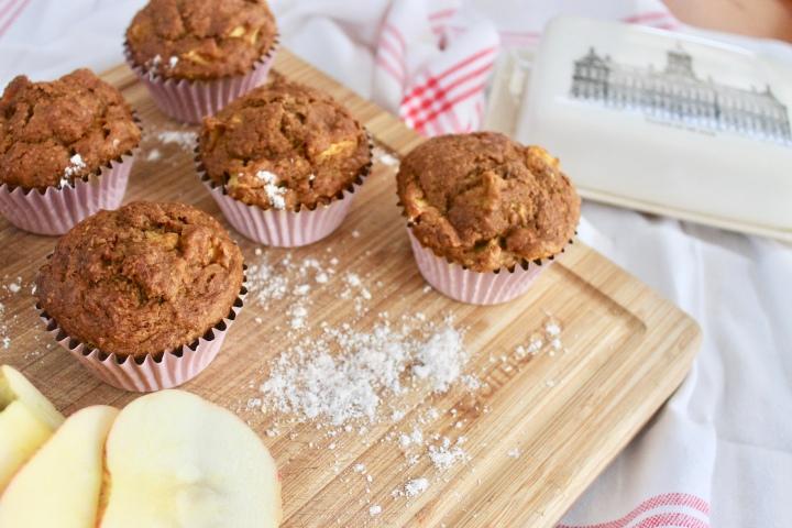 Pumpkin Apple Muffins ~Recipe